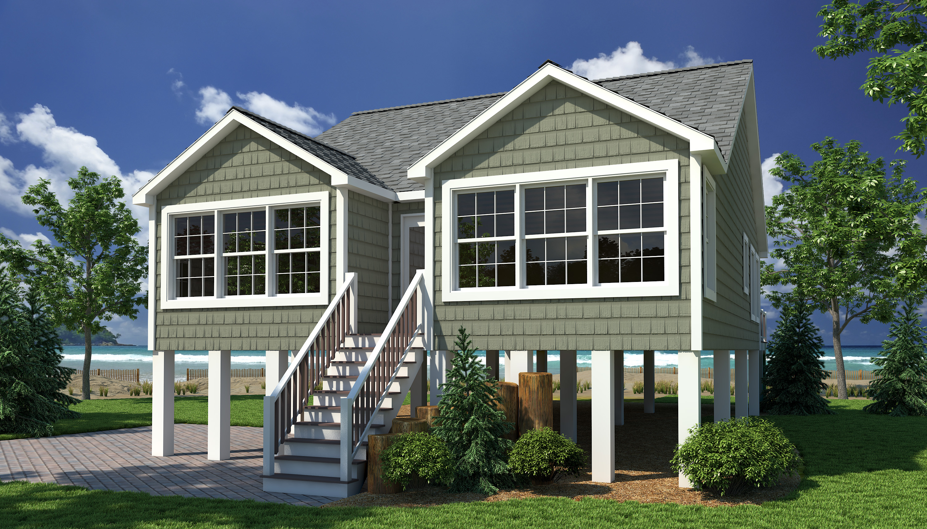 Beach Style Modular Homes Gallery Shore Collection