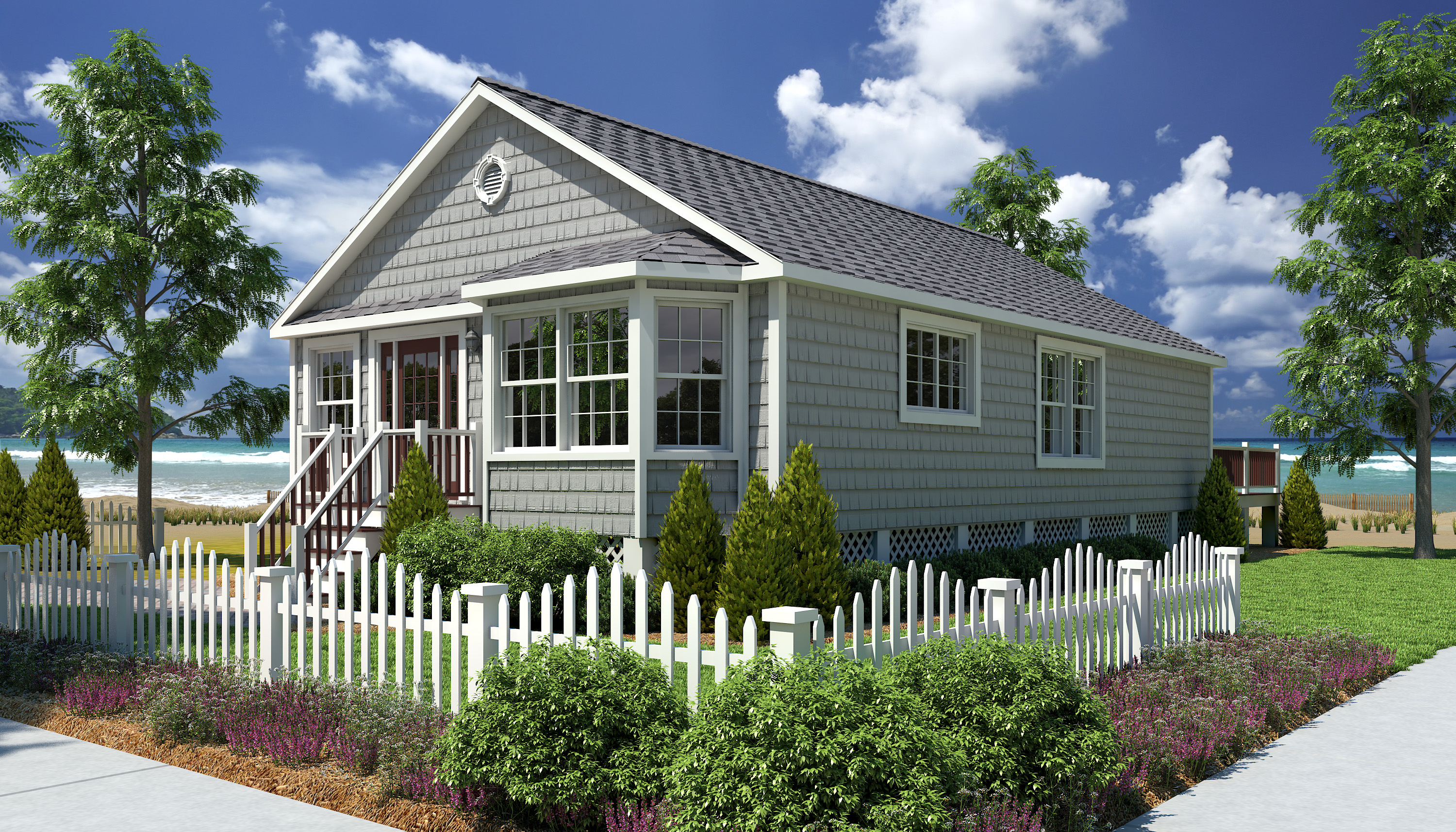 modular homes cottage style