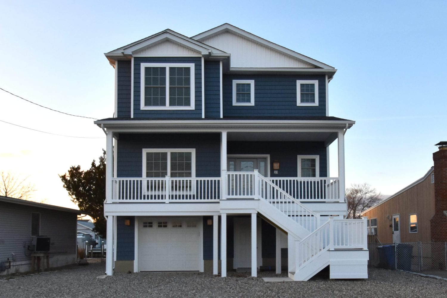 Custom modular beach style home builders ocean county for New jersey home builders