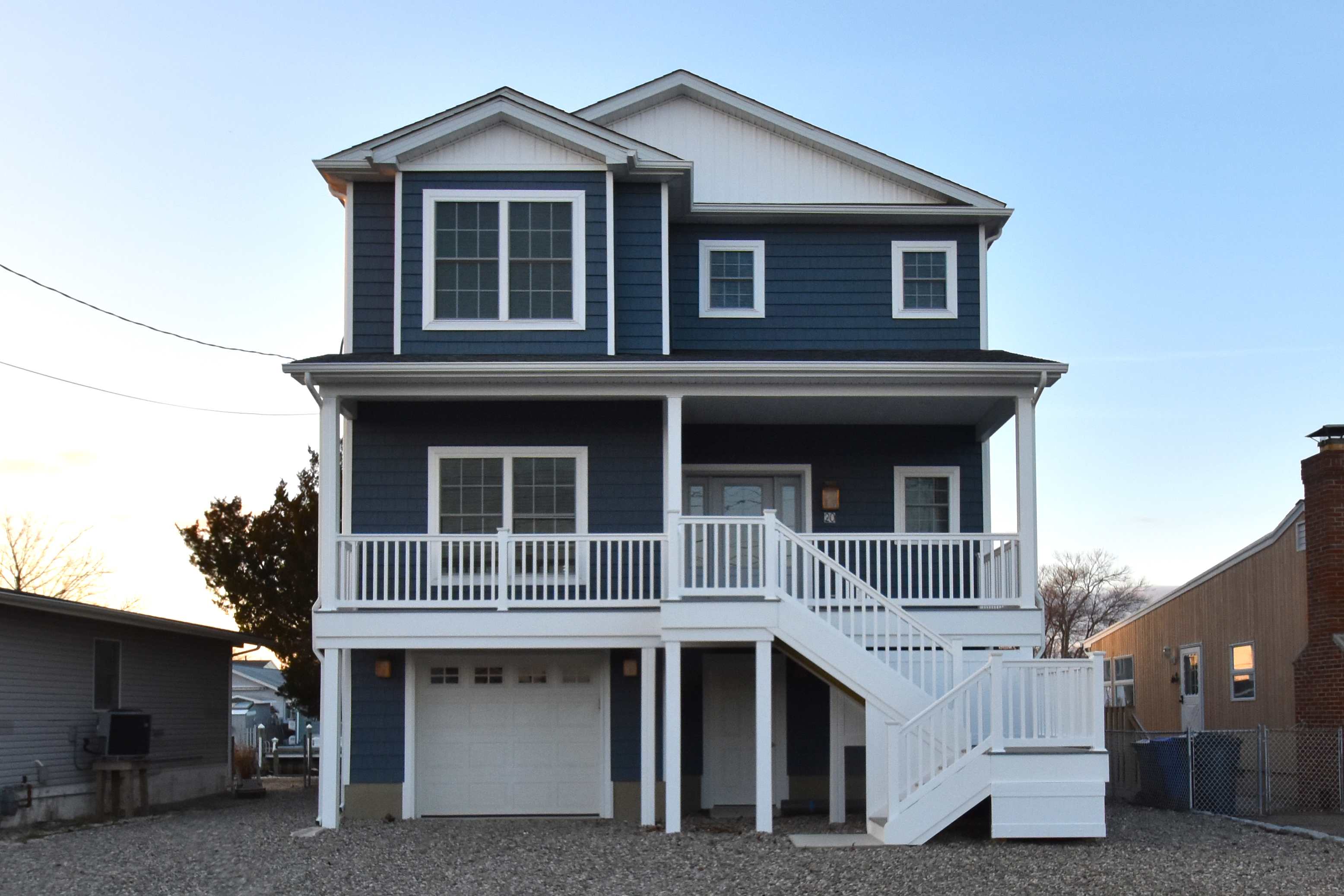Custom modular beach style home builders ocean county for Custom beach house